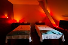 Cabine de Massage en Duo