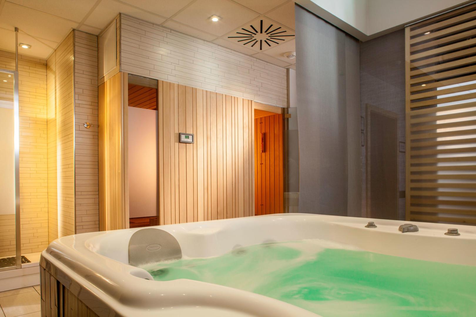 Spa Saint Louis sauna hammam jacuzzi