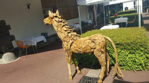 Cheval bois flotté à LA VILLA K