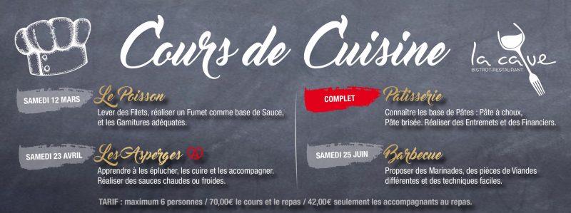 cours de cuisine saint-louis