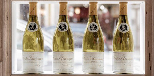 Vin Corton-Charlemagne à La Villa K