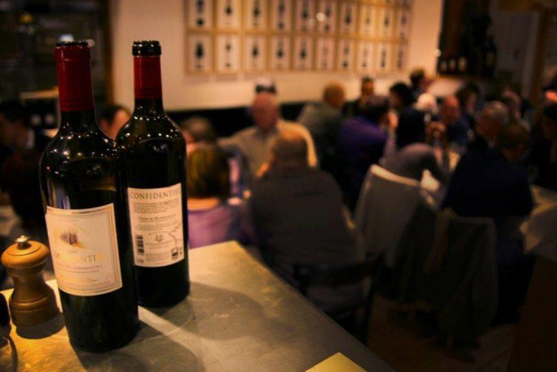 Dégustation vins restaurant La Cave Saint Louis