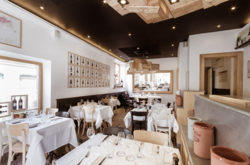 Restaurant la Villa K Saint Louis