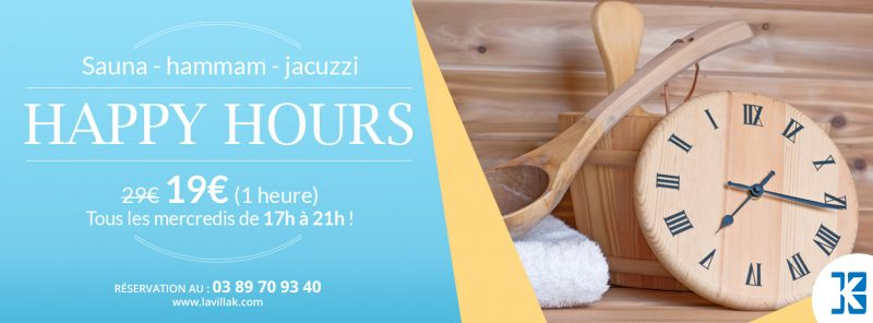 Happy Hours Spa la villa k