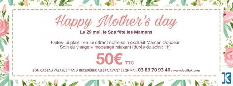 Cadeau fête des mères massage Saint-Louis