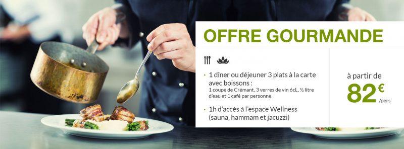 Offre restaurant hôtel Alsace