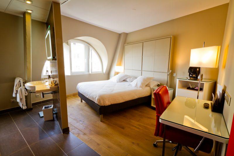swissbau 2018 hotel bale