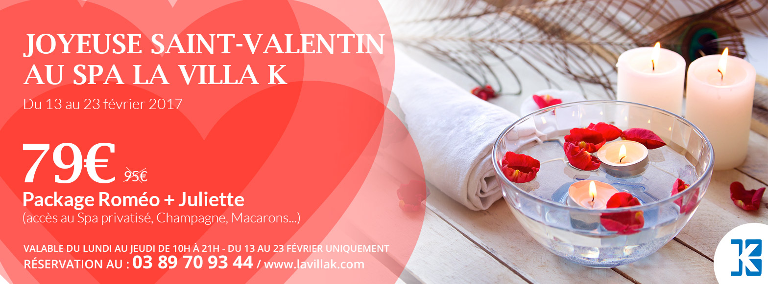 Spa en couple saint valentin saint louis b le la villa k - Salon de massage pour couple ...