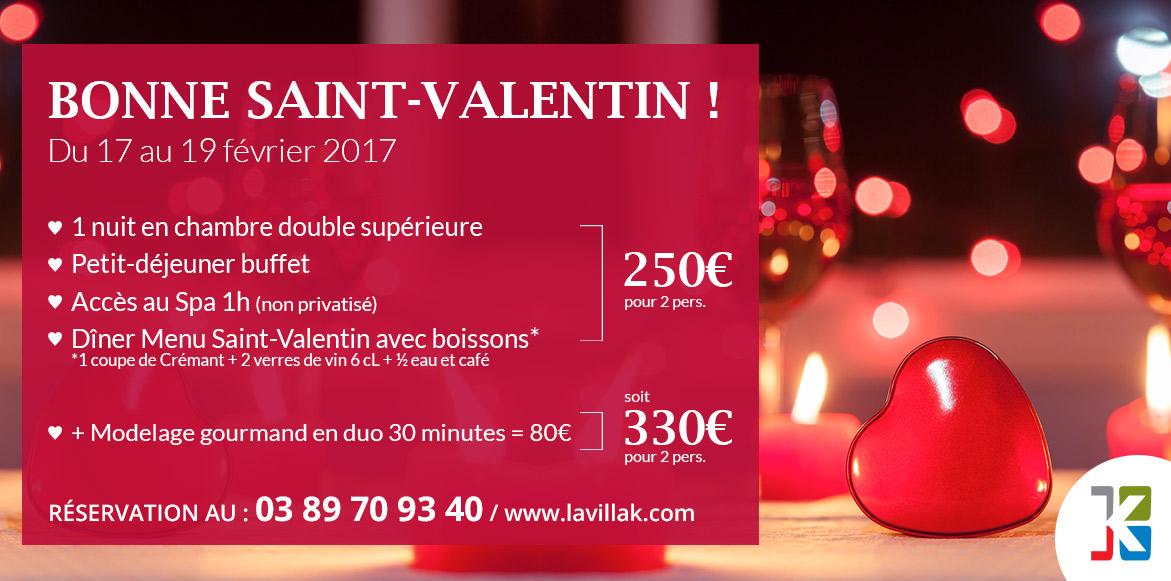 Weekend romantique saint valentin alsace b le la villa k - La saint valentin 2017 ...