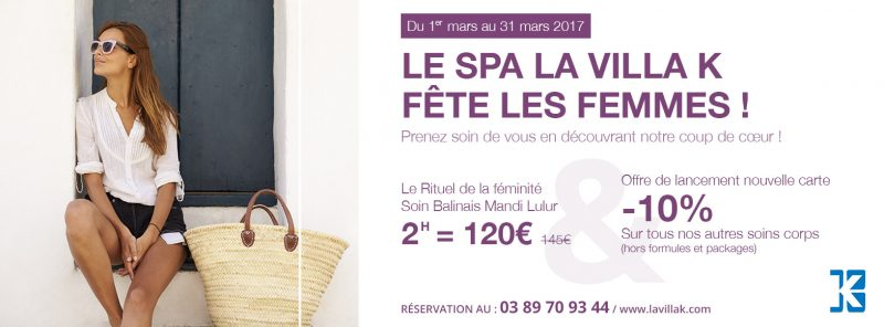 Offres et remises massage gommage spa alsace la villa k for Salon saint louis dammartin en goele