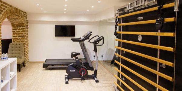 Salle de sport à La Villa K pour des cours de fitness privés