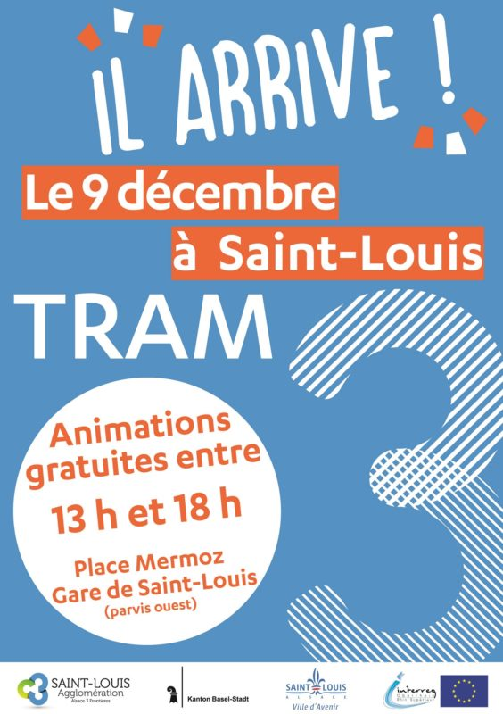 inauguration tram 3 saint louis bale
