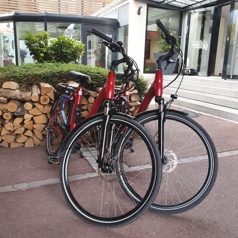 Nouveaux vélos Hôtel Saint-Louis