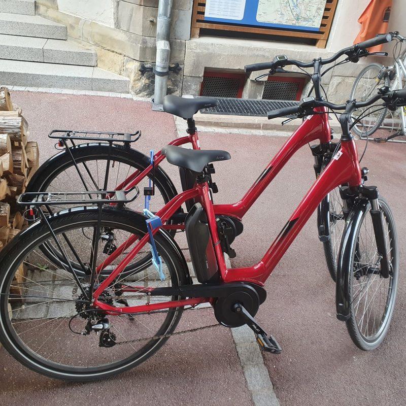 vélos électriques à louer