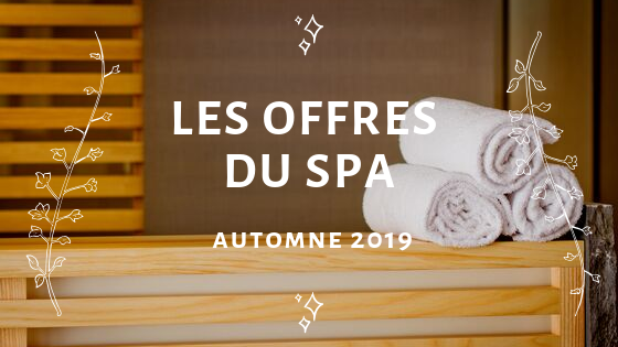 offres promotions spa soins