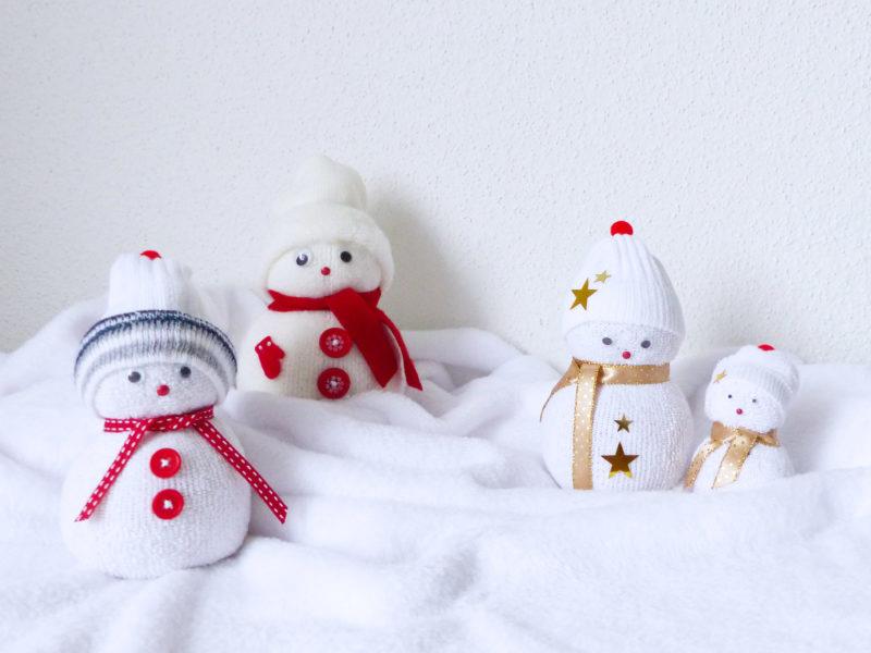 atelier diy noel bonhomme de neige