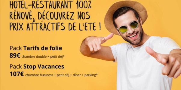 Offres été : Hotel, Spa & Restaurant