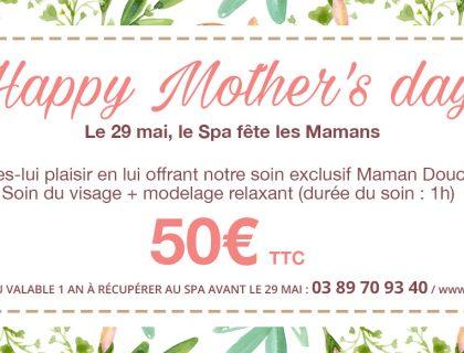 Idée cadeau fête des mères massage alsace