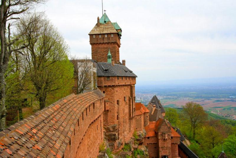 Château du Haut-Koenigsbourg en Alsace