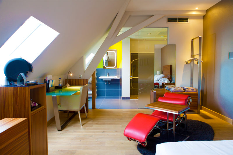 La villa K room