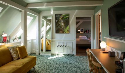 Chambre La Villa K Hôtel à Saint-Louis
