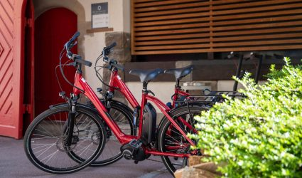 Vélos électriques à La Villa K